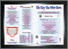 Eco Framed Birthday & Greeting Gift